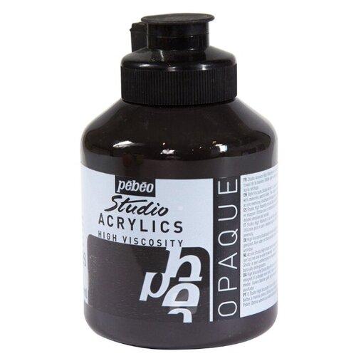 Купить Pebeo Краска акриловая Studio Acrylics, 500 мл марс черный, Краски