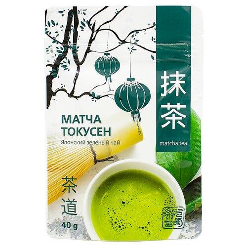 Чай зеленый 101 чай Матча токусен, 40 г чай зеленый матча латте 40 г