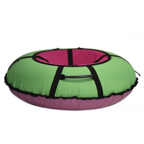 Тюбинг Hubster Ринг Хайп 100 см салатовый/розовый тюбинг hubster хайп 100 см салатовый бирюзовый