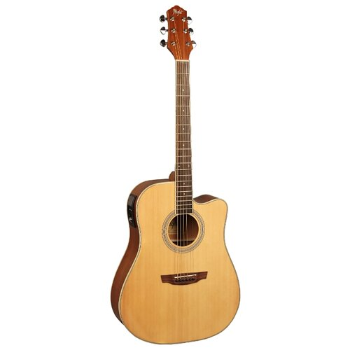Электроакустическая гитара Flight AD-200 CEQ NA гитара электроакустическая enya em x1eq