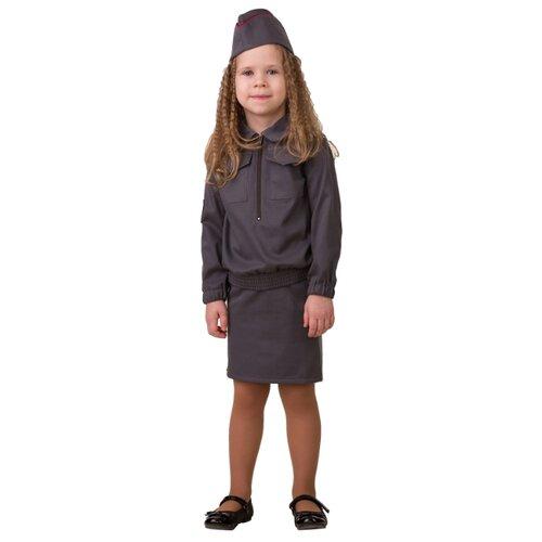Купить Костюм Батик Полицейская (5709), серый, размер 104, Карнавальные костюмы