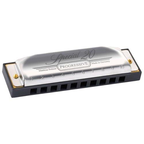 цена на Губная гармошка Hohner Country Special 560/20 C, черный
