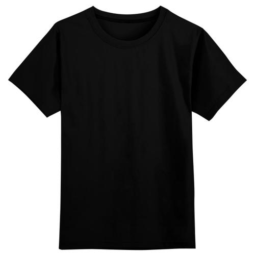 Футболка Printio размер 4XS, черный, Футболки и майки  - купить со скидкой