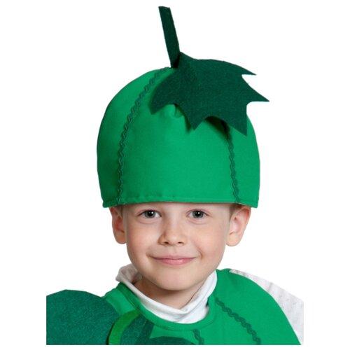 Купить Маска КарнавалOFF Огурец (4119), зеленый, размер 53-55, Карнавальные костюмы