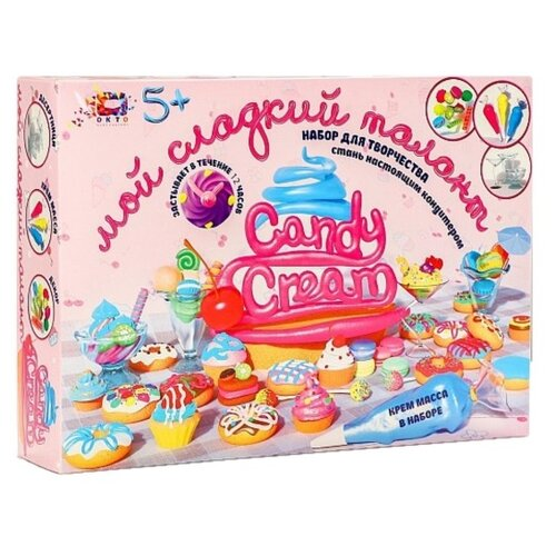 Масса для лепки Moon light clay Candy Cream (75114) масса для лепки эластик candy
