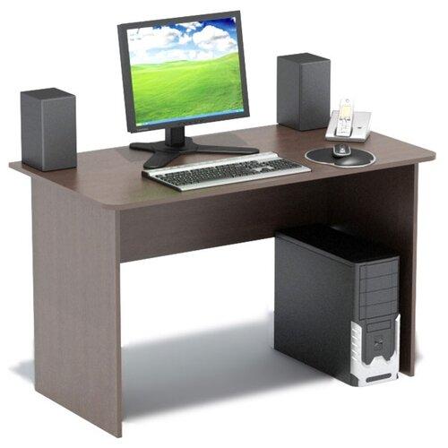 Письменный стол СОКОЛ СПМ-02.1, ШхГ: 120х60 см, цвет: венге
