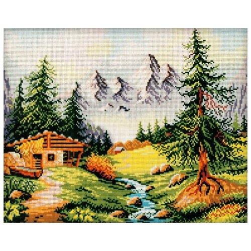 Schaefer Набор для вышивания гобелена Дом в лесу 40 x 50 см (427/63) schaefer набор для вышивания 9 x 12 см 460 12