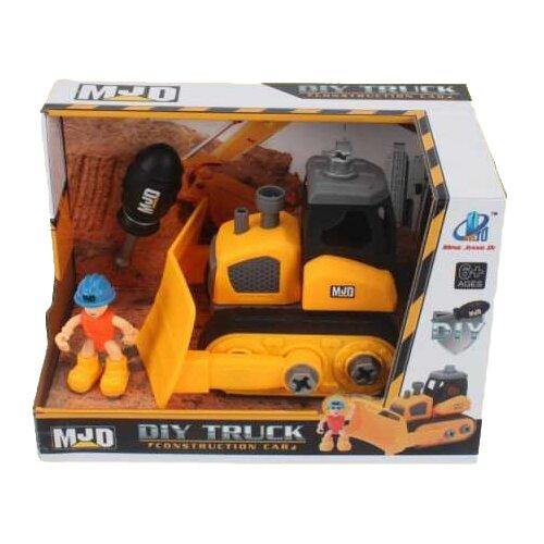 Купить Винтовой конструктор MJD DIY Truck 122-2A Спецтехника Трактор, Конструкторы