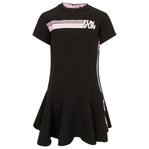 Платье Fun & Fun размер 128, черный