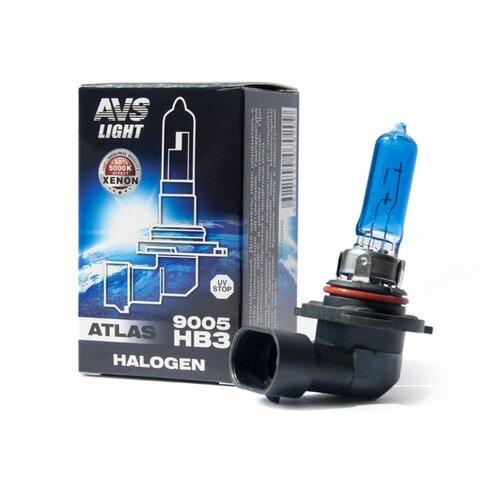 Лампа автомобильная галогенная AVS Atlas A07020S HB3 65W 12V 1 шт. подогрев сиденья avs hc 180 a78503s