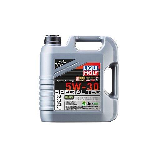 Полусинтетическое моторное масло LIQUI MOLY Special Tec DX1 5W-30, 4 л