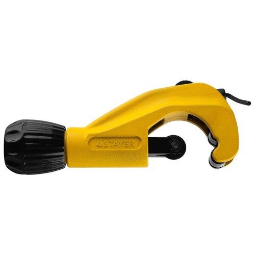 Фото - Роликовый труборез STAYER ProCut (2342-42) 6 - 42 мм желтый роликовый труборез zenten basick 7330 3 3 30 мм красный