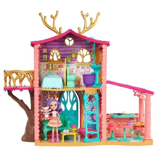 Купить Enchantimals Домик Данессы Оленни FRH50, розовый, Кукольные домики