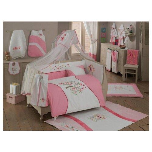 Купить Комплект из 6 предметов серия Sweet Flowers (Pink), Kidboo, Постельное белье и комплекты
