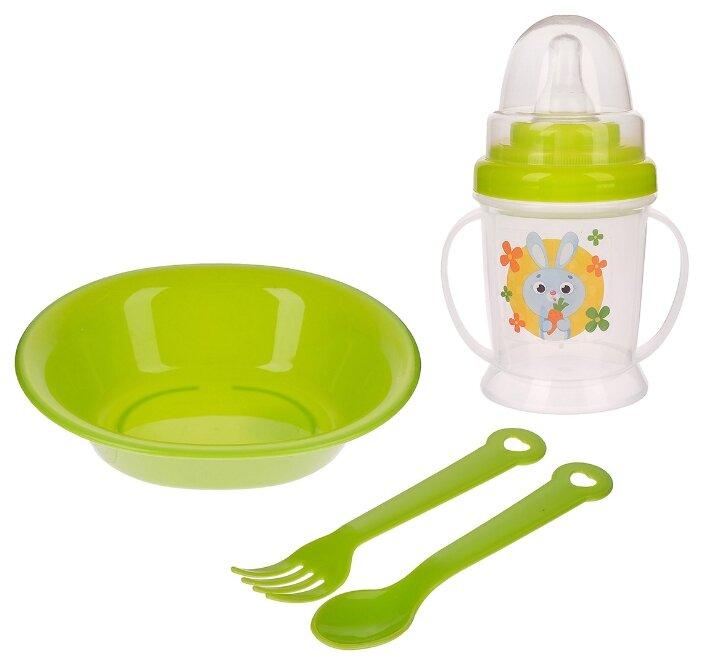 Комплект посуды Крошка Я Зайка (3275231)