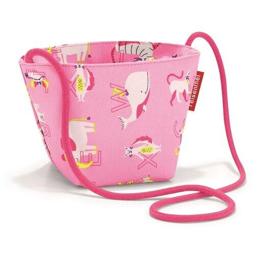 Сумка reisenthel Minibag ABC friends IV4066/IV3066, текстиль, розовый фото