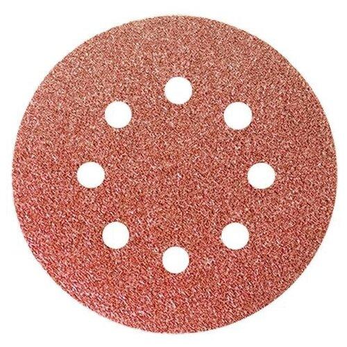 Фото - Шлифовальный круг на липучке matrix 73844 150 мм 5 шт шлифовальный круг на липучке hammer 214 016 150 мм 5 шт