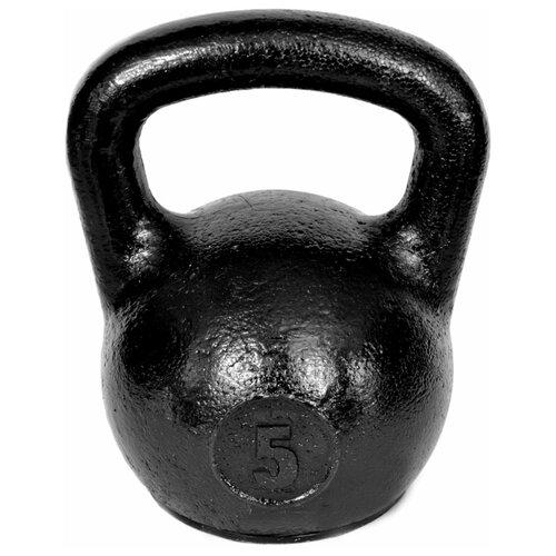 Гиря цельнолитая TITAN уральская 5 кг