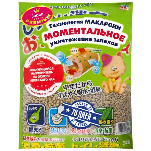 Комкующийся наполнитель Japan Premium Pet Тофу с ароматом японского чая (7 л)