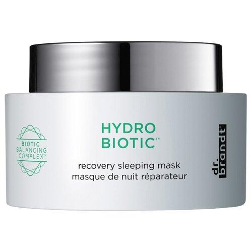 Dr. Brandt Маска ночная восстанавливающая Hydro Biotic Recovery Sleeping Mask, 50 мл dr brandt очищающий крем гель clean biotic 100 мл