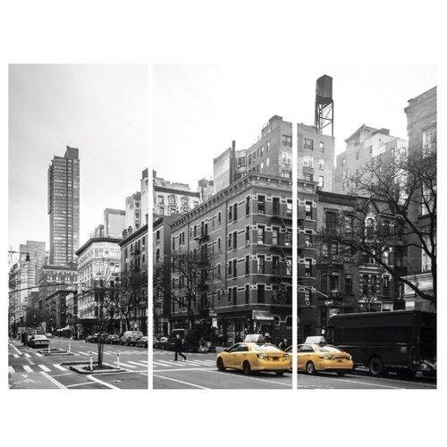 Фото - Модульная картина Ekoramka Два такси 90х70 см картина модульная картиномания водопад 90 х 57 см