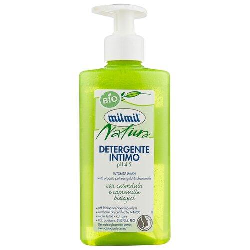 Milmil Гель для интимной гигиены Natura с календулой и ромашкой, 300 мл