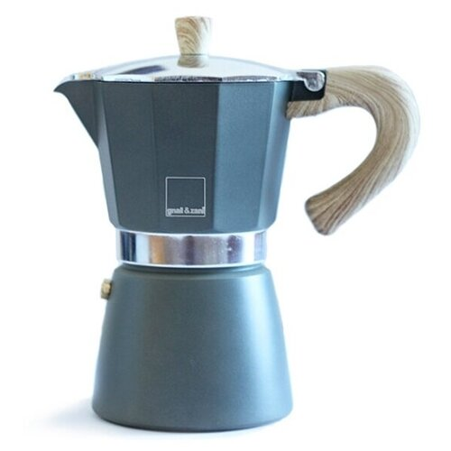Гейзерная кофеварка Gnali & Zani Venezia (6 чашек), серый
