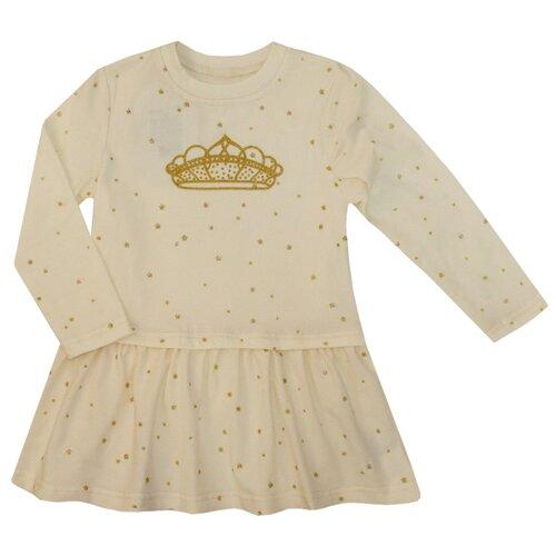 Купить Платье KotMarKot размер 110, молочный, Платья и сарафаны