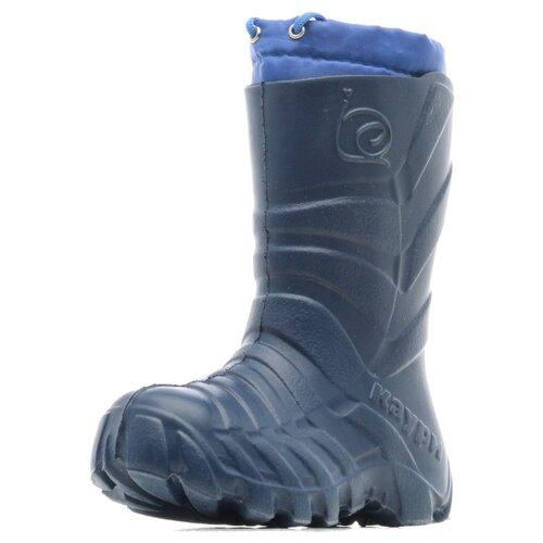 Фото - Резиновые сапоги KAURY размер 33/34, темно-синий сапоги для девочки elegami цвет темно синий 5 521551802 размер 33