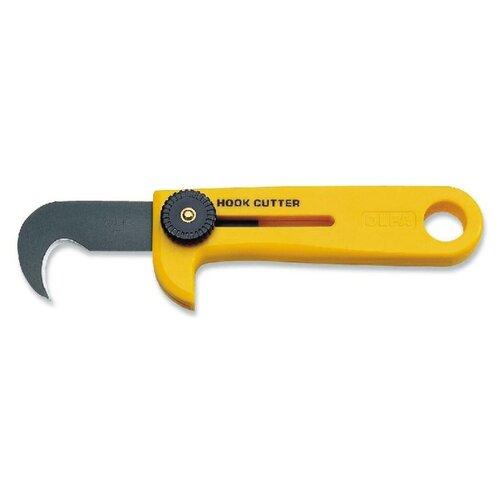 Монтажный нож OLFA OL-HOK-1 нож olfa с выдвижным лезвием с резиновыми накладками 25мм ol h 1