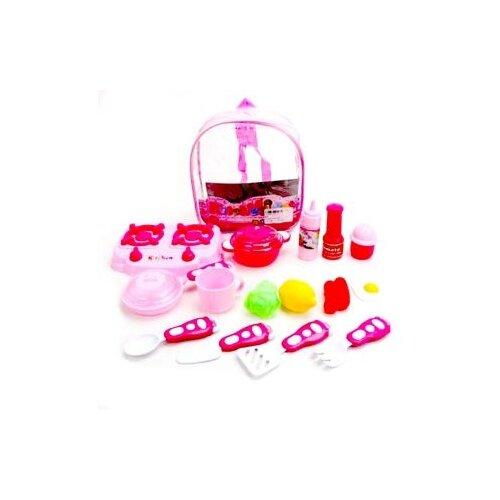 Игровой набор Shantou Gepai 5212 розовый игровой набор shantou t10759 43 см со звуком пьющая писающая