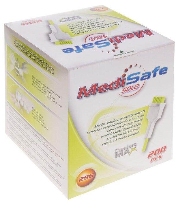 MediSafe Solo ланцеты 29G