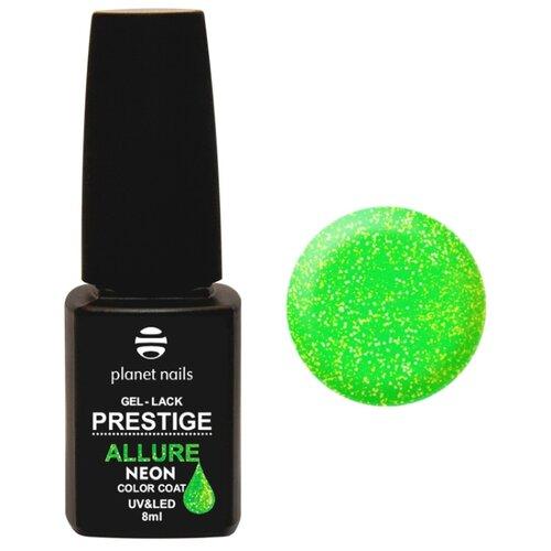 Гель-лак planet nails Prestige Allure Neon, 8 мл, оттенок 694 гель лак planet nails prestige allure 8 мл оттенок 905