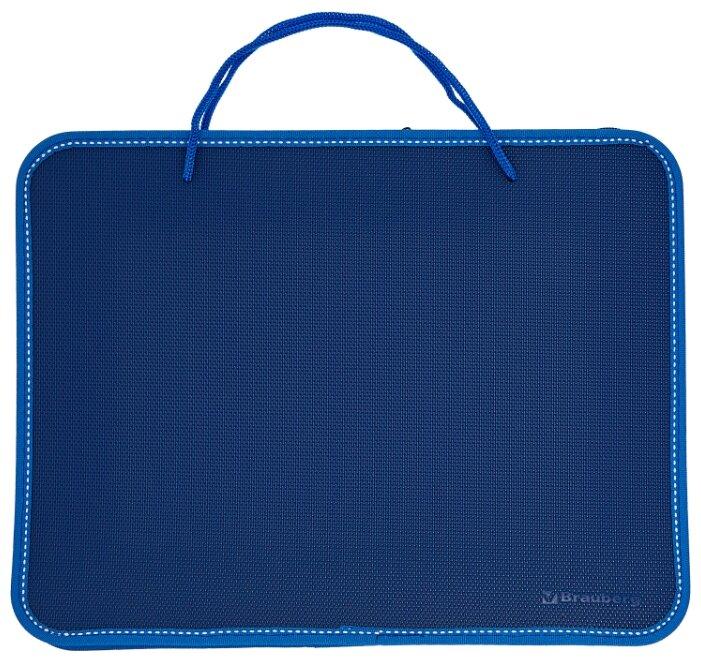 Папка Brauberg А4 350х270х45mm Blue 225163