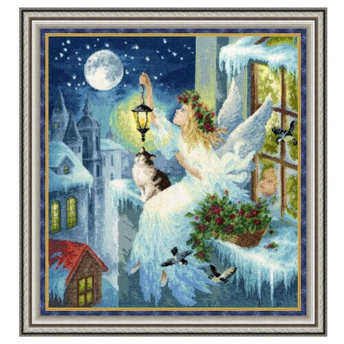 Фото - Золотое Руно Набор для вышивания Зимняя фея 42,2 х 38,7 см (СО-012) набор для вышивания золотое руно гм 037 булгаковская осень