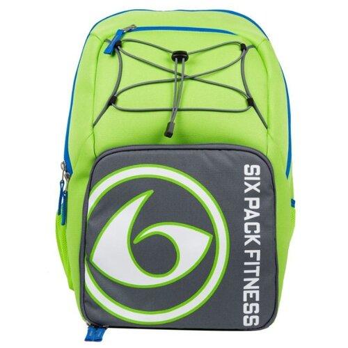 Six Pack Fitness Рюкзак Pursuit Backpack 300 зеленый/серый/голубой 35 л