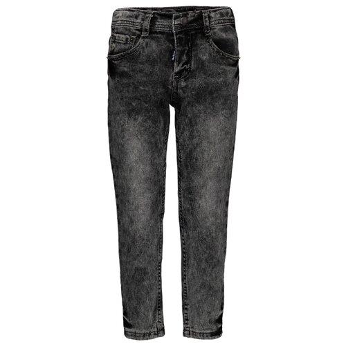 Джинсы Gulliver размер 104, серый джинсы gulliver размер 170 серый