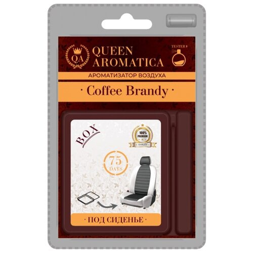 Queen Aromatica Ароматизатор для автомобиля Coffee Brandy