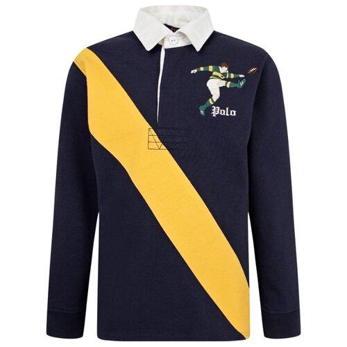 Купить Поло Ralph Lauren размер 164, синий, Футболки и майки