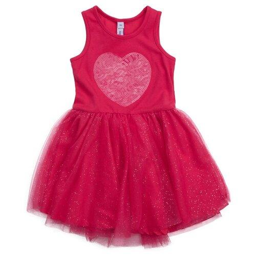 Платье playToday размер 68, красный