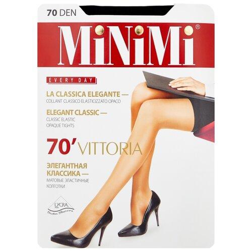 Колготки MiNiMi Vittoria 70 den, размер 4-L, nero (черный) колготки minimi vittoria 40 den размер 4 l nero черный