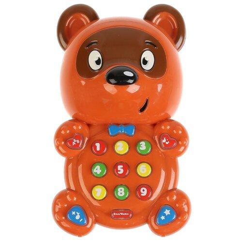 Развивающая игрушка Умка Развивающий мультиплеер Винни Пух коричневый развивающая игрушка 52431 коричневый