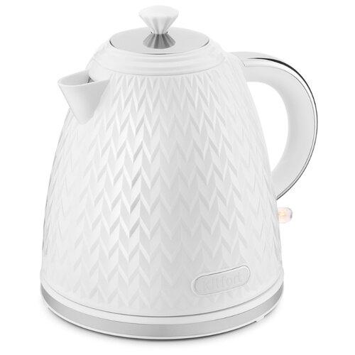 Чайник Kitfort КТ-681, белый чайник kitfort кт 673 1 белый
