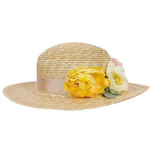 Купить Шляпа IL Trenino размер 58, бежевый, Головные уборы