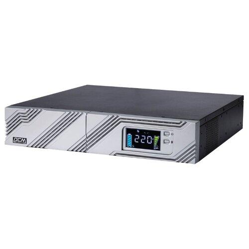 Интерактивный ИБП Powercom SMART RT SRT-1000A LCD ибп powercom srt 1000a