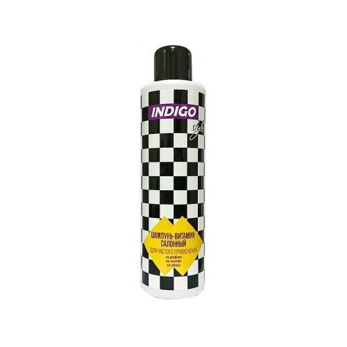 Indigo Style Шампунь-витамин для волос салонный для частого применения 1000 мл лучший салонный уход для волос