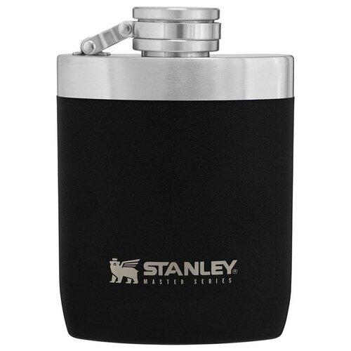 Термос-фляга STANLEY Master SS Vacuum Flask, 0.23 л черный