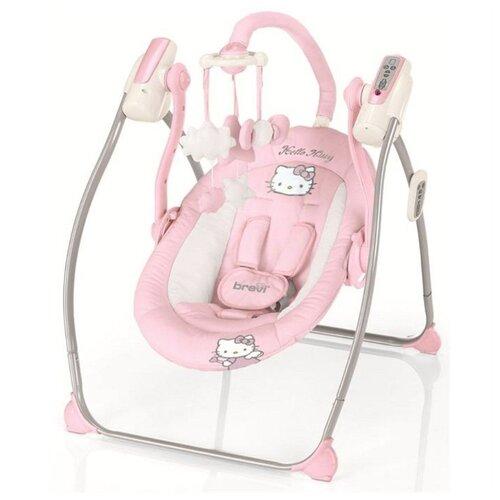 Качели Brevi Miou Hello kitty розовый самокат hello kitty детский hc1003 kc розовый