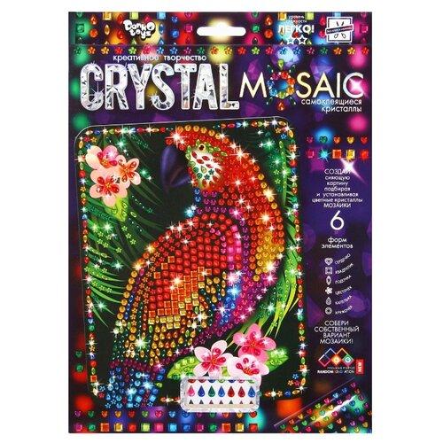 Купить Danko Toys Набор алмазной вышивки Crystal Mosaic Попугай (CRM-01-10), Алмазная вышивка