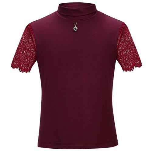 Блузка Stylish Amadeo размер 140, бордовый